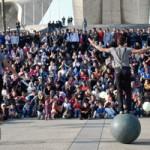 Il Gabo documenta il viaggio del Circo Inzir