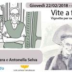 """""""Vite a fumetti"""", Pietro Scarnera e Antonella Selva a Disognando"""