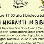 21 Marzo – Fumetti migranti in biblioteca