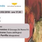"""""""Babele: teatro e fumetto"""", Lorenzo Cimmino, Vincenzo Picone e Giampaolo Parrilla a Disognando"""